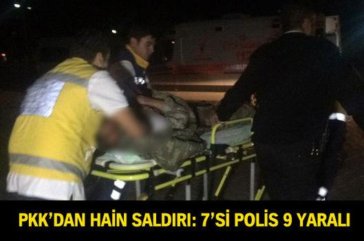PKK'dan jandarma karakoluna saldırı: 7'si asker 9 yaralı