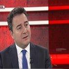 Ali Babacan Habertürk TV'de konuştu
