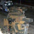 Şırnak'ta askeri araç kaza yaptı: 13 asker yaralı