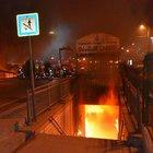 Topkapı Alt Geçidi Ucuzluk Çarşısı'nda yangın