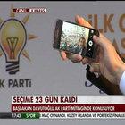 Başbakan Davutoğlu'ndan Kahramanmaraş'ta binlerce kişi ile selfie
