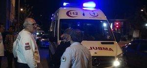 Konya'da bir ambulansın navigasyonu çalındı