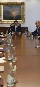 Başbakan Davutoğlu güvenlik toplantısı yapıyor