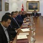 Başbakan Davutoğlu güvenlik toplantısı yaptı