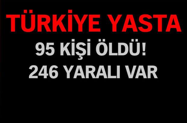 Ankara'da terör saldırısı: 86 ölü, 186 yaralı!