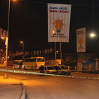 Esenyurt'ta AK Parti seçim bürosuna saldırı