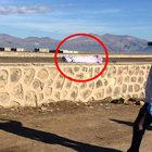 Duvar üzerinde erkek çocuğuna ait bir ceset bulundu