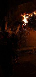 Alanya'da turistik çarşıda yangın