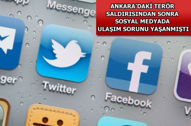 Twitter, Facebook,  terör saldırısı