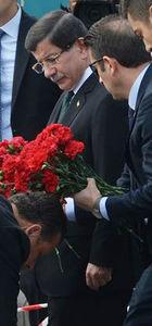 Başbakan Ankara katliamının yaşandığı yerde