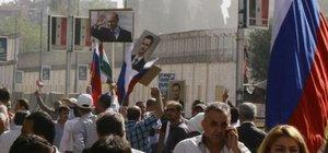 Şam´daki Rusya Büyükelçiliği iki füze ile vuruldu