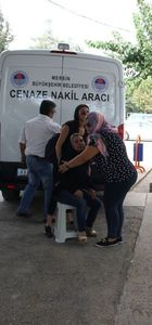 Mersin'de cenazeler karıştı