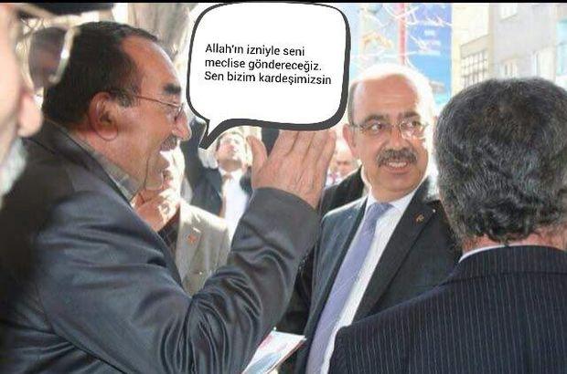 MHP'li aday, seçmenlerle çektirdiği fotoğrafları konuşturdu