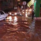 Ordu ve Samsun'da sağanak yağış