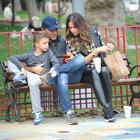 Mustafa Sandal ve Emre Altuğ oğullarıyla