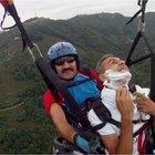 Ordu'da yamaç paraşütüyle uçarken sakal tıraşı oldu