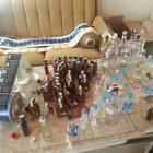 Çiftlik evine sahte içki baskını