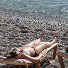 Antalya'da deniz sezonu sürüyor