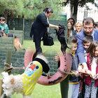 Şener Şen Parkı'nda egzersiz zamanı!