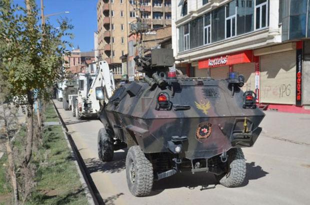 Hakkari'de hendek operasyonu