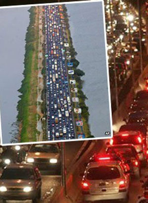 Trafik sıkışıklığında ilk 10'a giren ülkeler