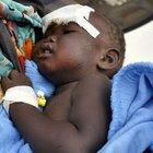 14 aylık bebek uçak enkazından sağ çıktı
