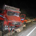 Bartın'da kamyon devrildi: 2 ölü, 4 yaralı