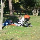 Güven Kıraç kızıyla Maçka Parkı'ndaydı