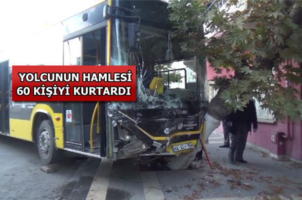 Malatya Belediyesi, Malatya'da otobüs şoförü direksiyon başında kalp krizi geçirdi!