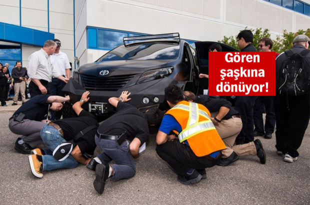 Toyota'nın çılgın otomobili!