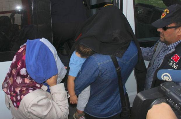 Aileleriyle IŞİD'e katılmak isteyen 38 kişi yakalandı