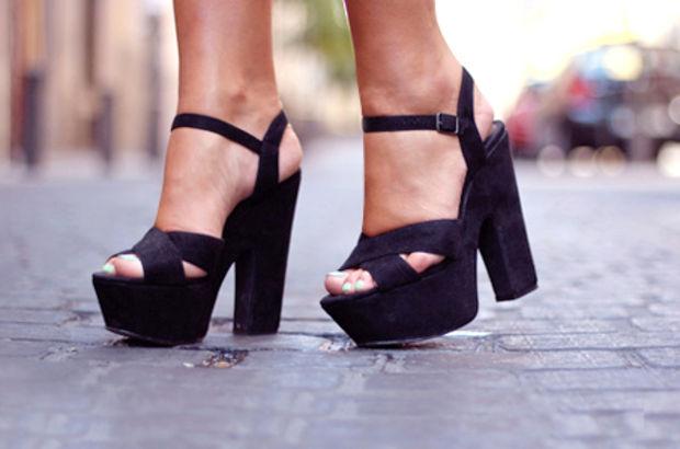 Topuklu giymenin zararları!
