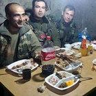 Sınırdaki askerlere 'Anne yemeği'