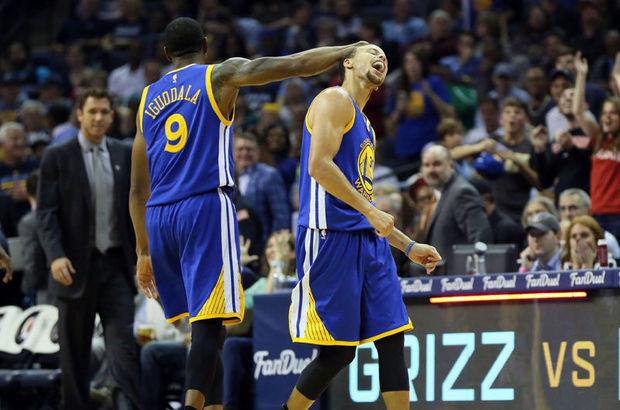 NBA'de Golden State Warriors, deplasmanda Memphis Grizzlies'ı 100-84 yenerek 9'da 9 yaptı