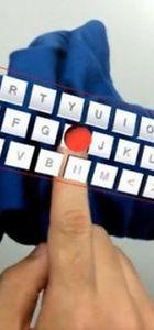 Kola sanal klavye geliyor!