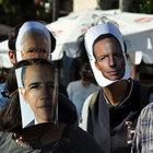 Akdeniz Üniversitesi öğrencileri Liderler Zirvesi'ni protesto etti