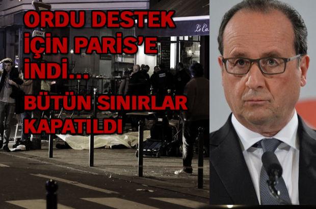 Fransa patlaması ve paris terör olayları