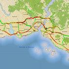 İstanbul'da cumartesi günü trafik yoğunluğu