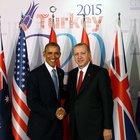 Erdoğan ile Obama görüşmesi bitti