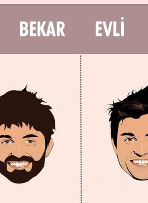 Bekar ile evli erkeğin farkı!