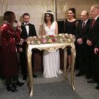 Bebek Otel'de baklavalı düğün