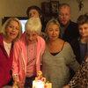 Yeni yaşını ailesiyle kutladı