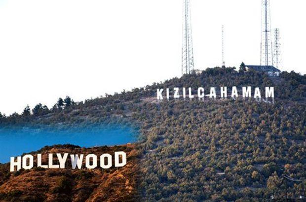 Kızılcahamam Hollywood'a özendi
