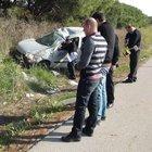 Balıkesir'de feci kaza: 3 kişi  yaralandı