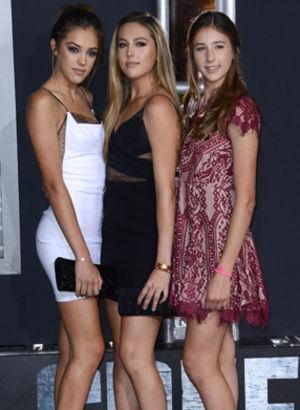 İşte Slyvester Stallone'nin kızları