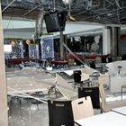 Isparta'da alışveriş merkezinin asma tavanı çöktü