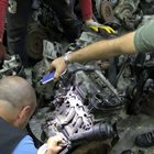 İzmir'de lüks otomobil motorları ele geçirildi