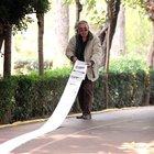 Başbakan'a yazılan 136 metrelik mektup 'şov' çıktı