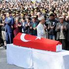 Şehit Uzman Çavuş Gözüdok'u Tokat'a 2 bin kişi uğurladı
