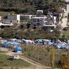 Hatay'da çadır kent kuruldu
